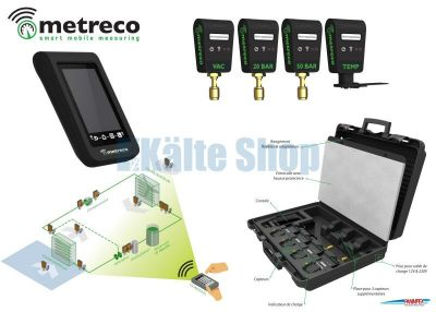 Digitale Monteurhilfe wireless MT01ST Komplettset Metreco