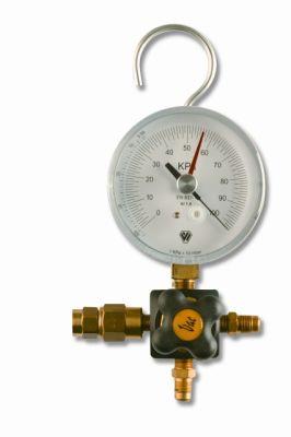 1-Wege Vakuummonteurhilfe m. Sicherheitsventil Wigam